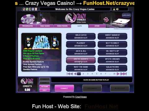 Crazy Vegas казино! -Видео игры