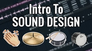 How to Make Fire Drum Sounds From Scratch In FL Studio! Sound Design Tutorial!