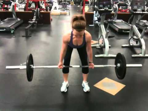 Reverse Bent Over Row
