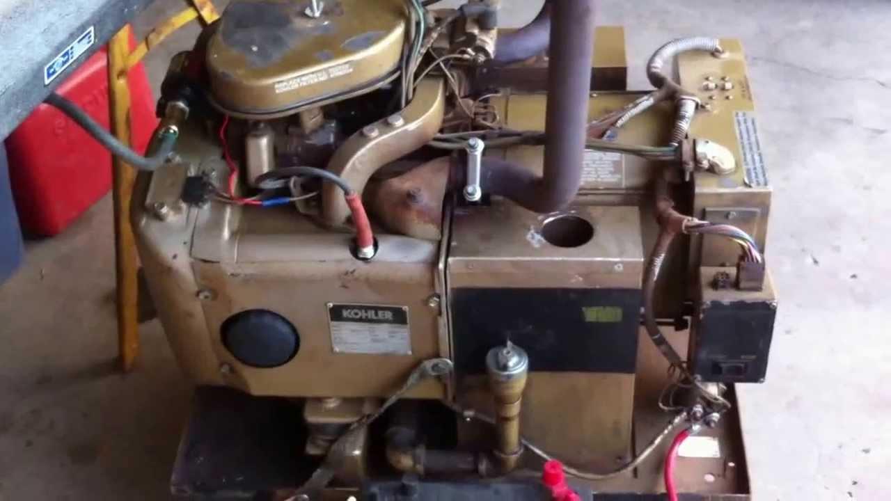 kholer 7kw rv generator youtube kohler generator wiring schematics kohler 7000 generator wiring diagram #12