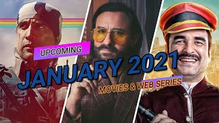 TOP 10 New web series january 2021 with releasing date | Upcoming movies 2021 | Hindi web series