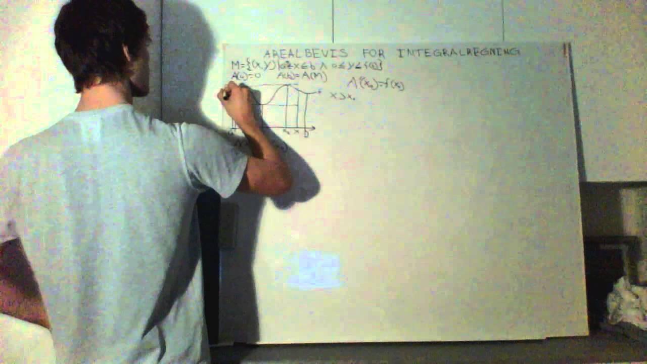 Arealbevis for integralregning - Jacob Korslund Schlander