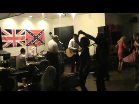 Gene gambler and the shufflers  singing RED HOT