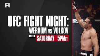 UFC Fight Night London: Werdum vs. Volkov Main Card LIVE Sat., March 17 at 5 p.m. ET on FN Canada