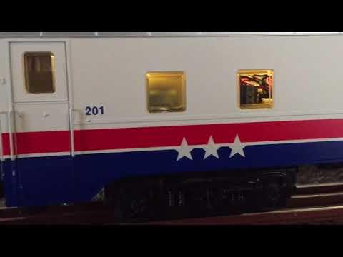 Lionel American Freedom Train Sound Car Take #2