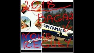 Ryanair 🛫2018.Nowe zasady przewozu bagażu podręcznego i rejestrowanego.