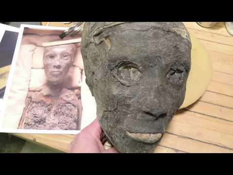 3D printed Replica of King Tut 's mummy