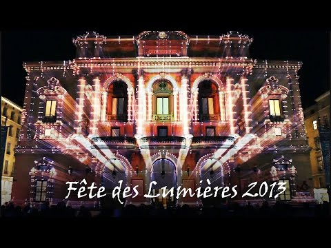 Festival of Lights (Lyon) 2013 - Mapping