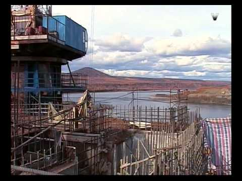 Перекрытие реки Колыма