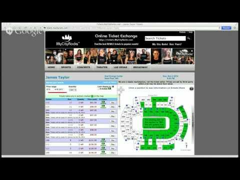 James Taylor Saint Paul Minneapolis MN Tickets Xcel Energy Center Concert