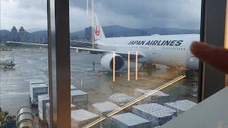 在廁所才看到飛機..松山機場4號登機口|快閃東京ep2