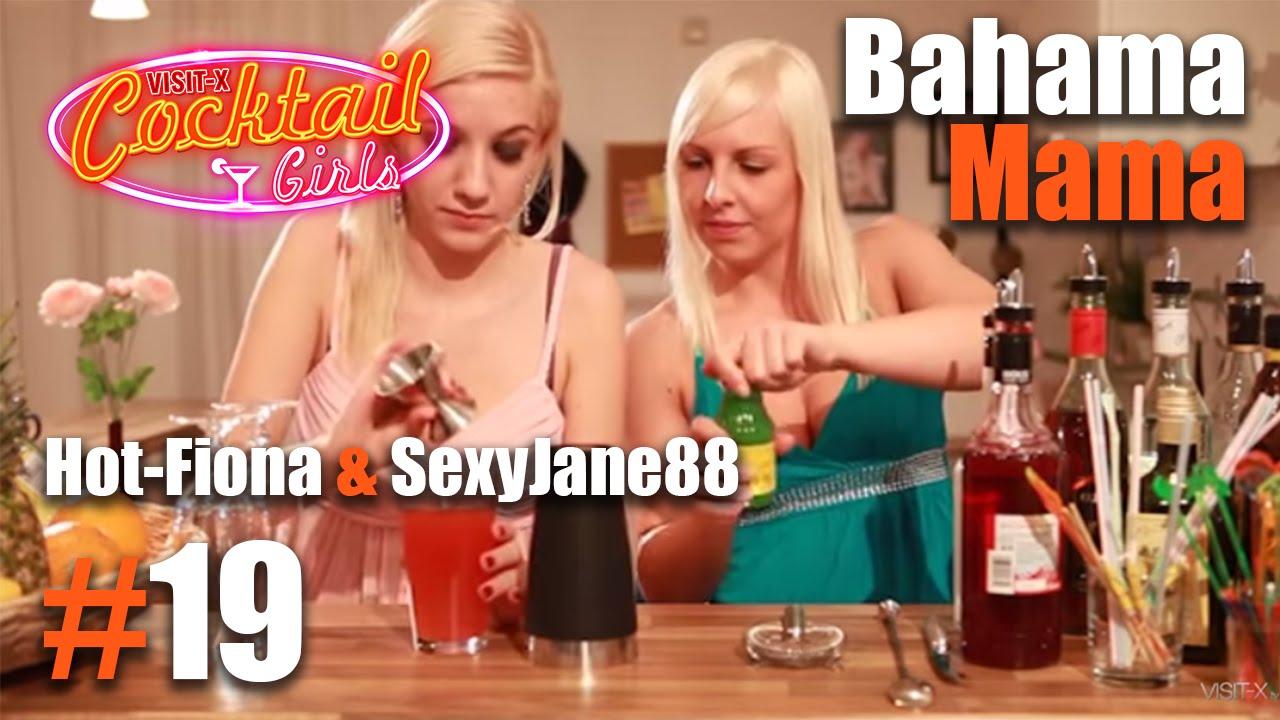 #19 Hot-Fiona und SexyJane88 mixen Bahama Mama - YouTube