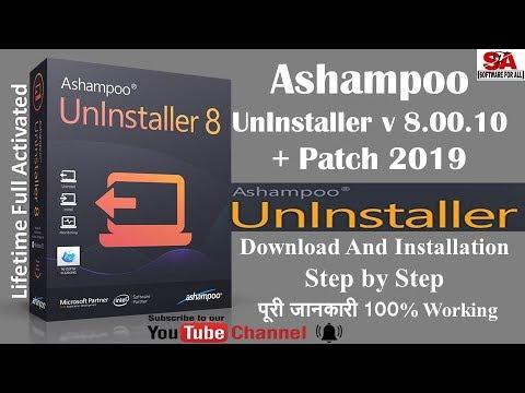 Ashampoo UnInstaller 8 00 10 | {FULL ACTIVATED} |100% Working