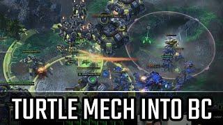 turtle mech in battlecruiser l starcraft 2 legacy of the void ladder l crank