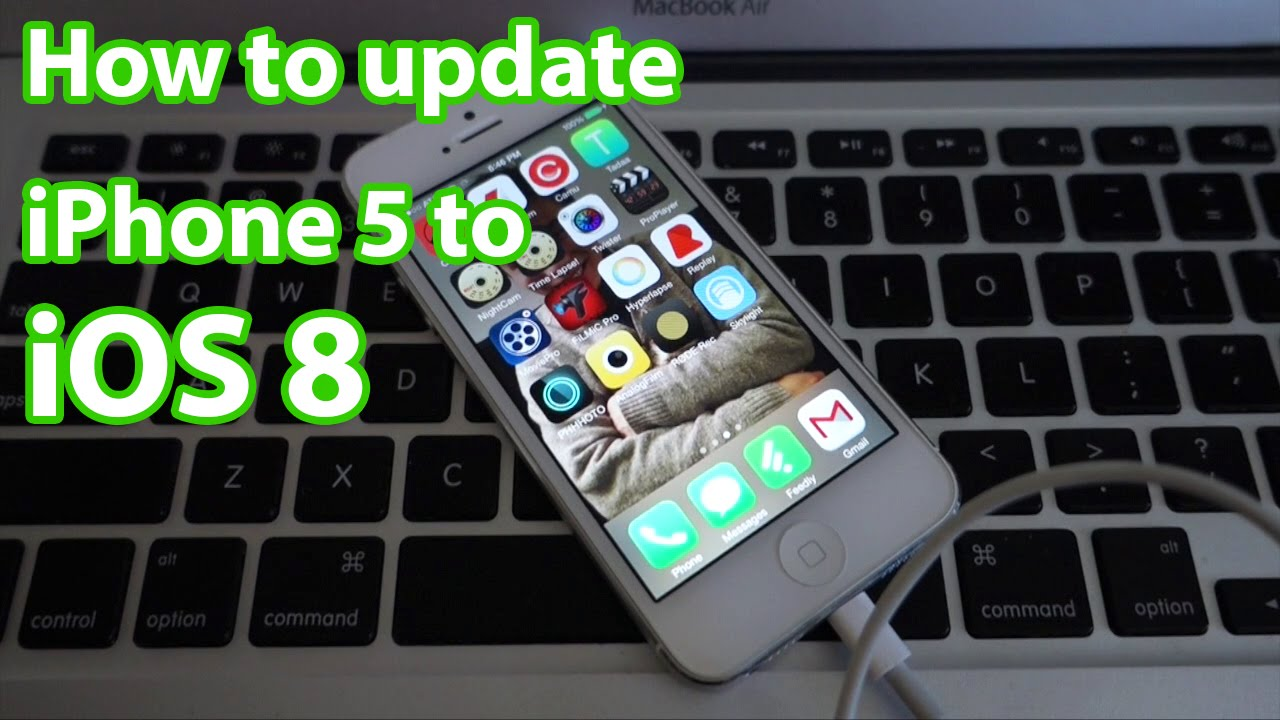 how to get ios 8 on iphone 5