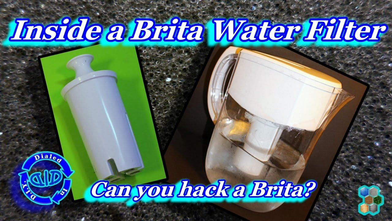 Inside a Brita Water Filter a filter autopsy YouTube