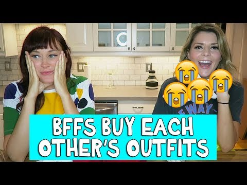 BFFs BUY EACH OTHER'S OUTFITS // Grace Helbig