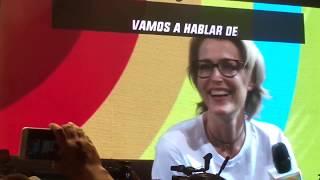 Gillian Anderson en Argentina Comic-Con (Costa Salguero - 07.12.2018)