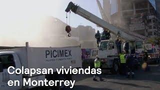 Se derrumban casas en Monterrey por obra clausurada - En Punto con Denise Maerker thumbnail