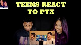 SUPERFRUIT REACTS TO TEENS REACT TO PENTATONIX-  REACTION