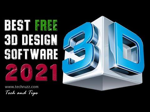 Top 5 Best Free 3d Design Software 2020 Windows Mac Linux Youtube