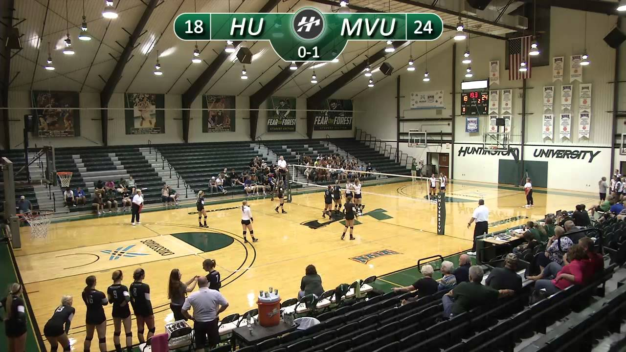 Mount Vernon Nazarene University >> Hu Volleyball Vs Mount Vernon Nazarene University