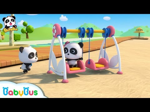 Baby Panda is Swinging | Dessert Songs for Kids | Learn Numbers | BabyBus