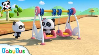 Baby Panda is Swinging | Learn Numbers | Nursery Rhymes | Kids Songs | Baby Cartoon | BabyBus