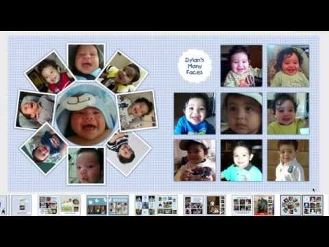 Videobook for Child { Photo Book + Videopage }
