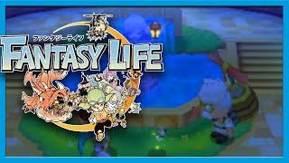 Fantasy Life Origin Island DLC Paladin God Rank Gameplay Walkthrough w/ Voltsy