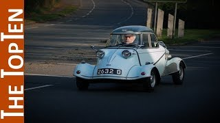 The Top Ten Best Classic Bubble Cars & Microcars