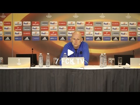 Se hele Ståle Solbakkens pressemøde efter sejren over Ajax