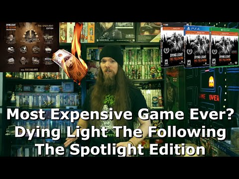 Most Expensive Game Ever? Dying Light The Following The Spotlight Edition