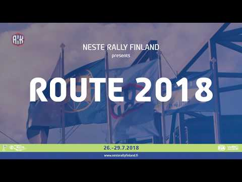 Neste Rally Finland Presents: Route 2018
