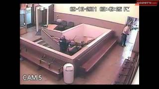 RAW VIDEO: Courthouse Shooting Surveillance Camera