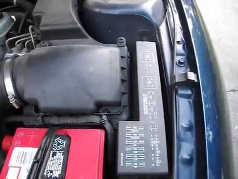 Fuse box locations on a 1995-2005 Chevy Cavalier - YouTube