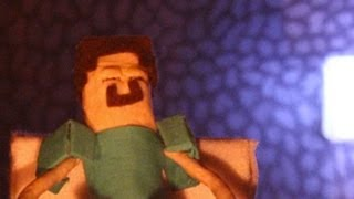"""A Day in a Life"" - A Minecraft Stop Motion Animation"