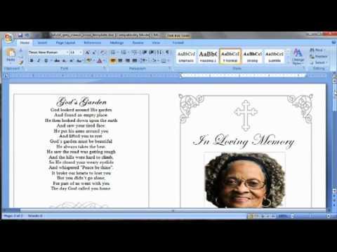 Funeral Poem Script TAKE 2
