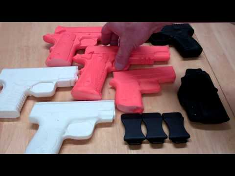 DIY Holster Maker MOLD GUNS