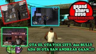 GTA UNDERGROUND - Ada GTA III, GTA Vice City, Bully di GTA San Andreas...!!!