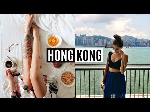 HONG KONG VLOG // Exploring, Shopping & Hotel Tour!
