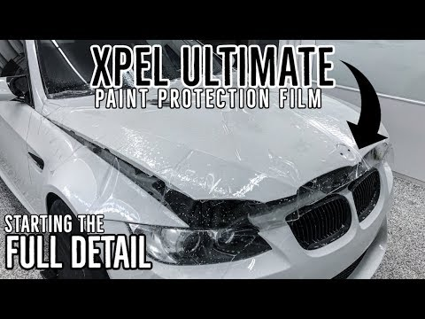 $5,000 worth of XPEL PPF COMPLETE...time for DECONTAMINATION