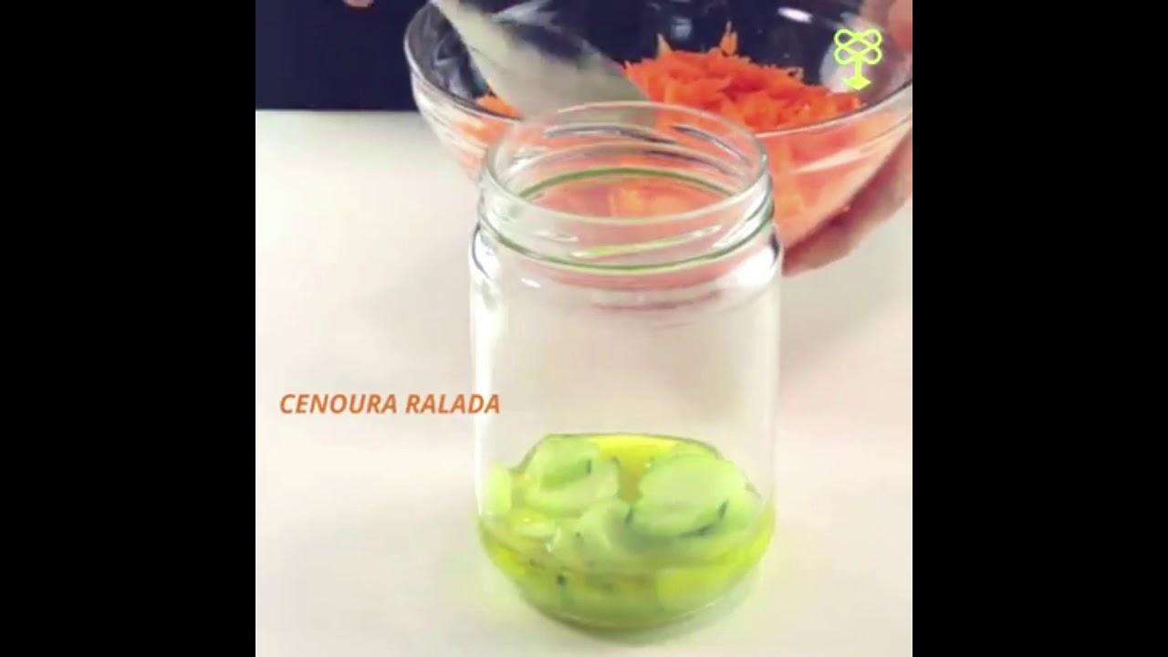Salada no potE MIX receitas diferentes para uma rotina mais leve.