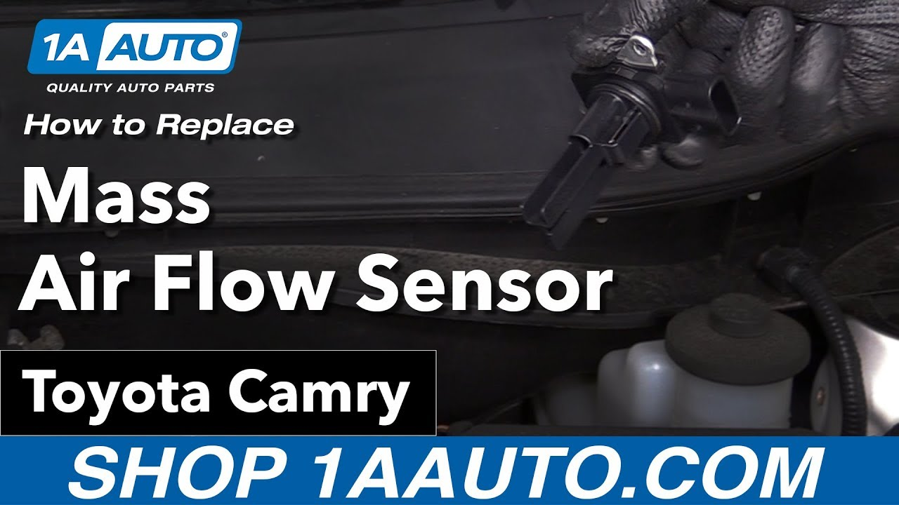 hight resolution of how to replace mass air flow sensor 07 11 toyota camry