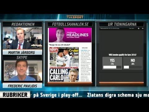 Headlines: Englands dom: Sverige går till EM - TV4 Sport