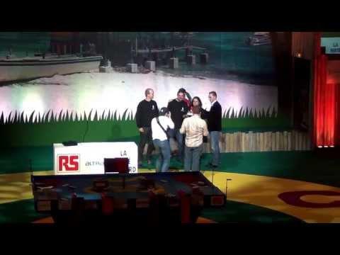 2012 - Wall-y - Prix des équipes - Coupe de France de robotique 2012