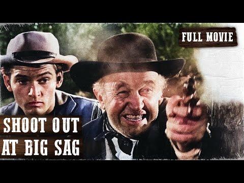 SHOOT OUT AT BIG SAG | Walter Brennan  | Full Length Western Movie | English | HD | 720p