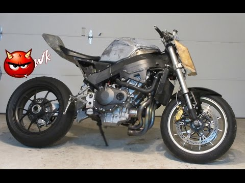 Honda CBR 954 Streetfighter Build PART 1