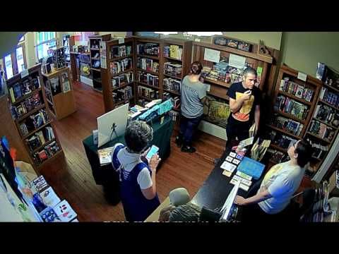 A Day in the Life of a Bookstore