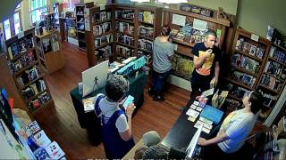 Watch a day in the bookstore!